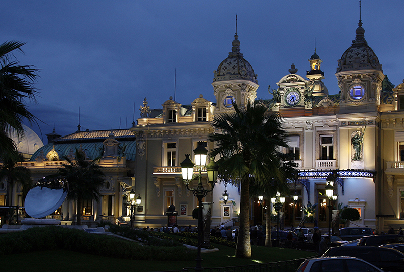 Monte Carlo Casino. Credit: Monaco Government Communication Department