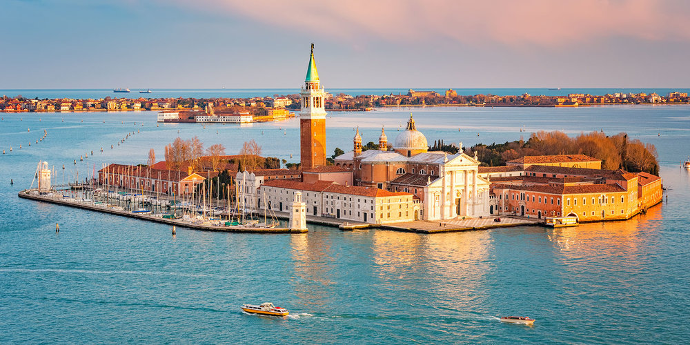 The Island of San Giorgio. Photo: Getty Images