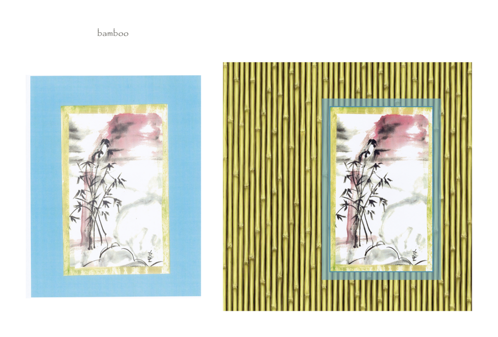 bamboo (before & after)