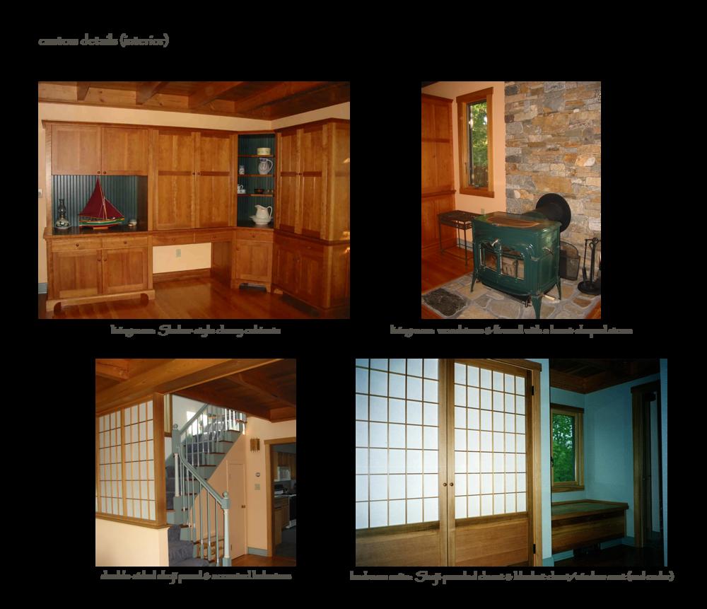 custom details (interior)
