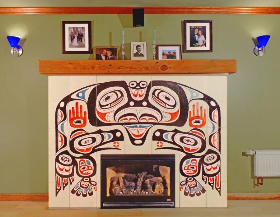 Raven Fireplace