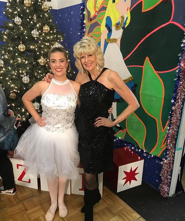 Senior Genevieve's last Christmas show!! 💕#sdfdazzle  #sdfholidayshow
