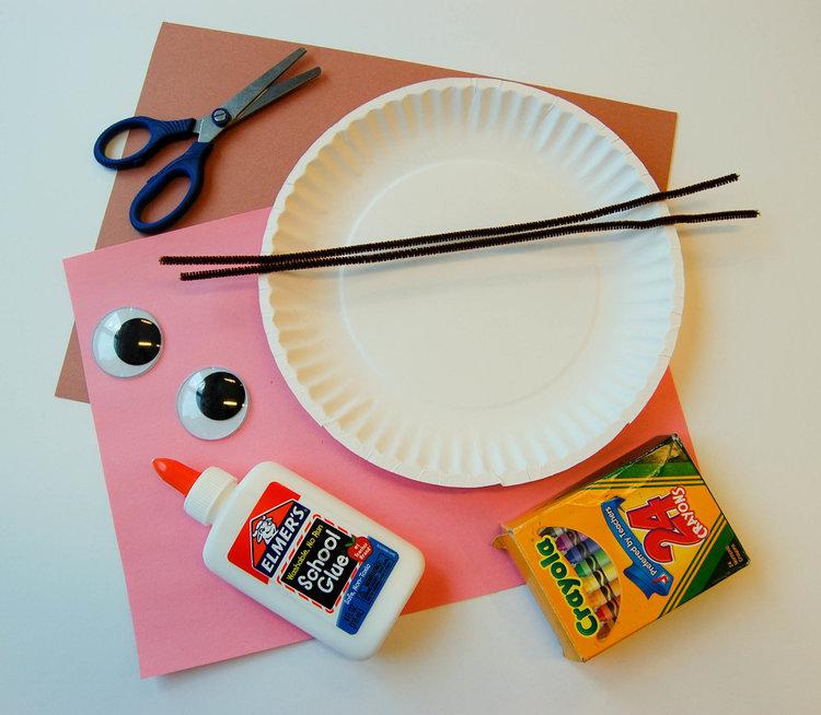 Mouse Paper Plate Craft Violet Paper Designs