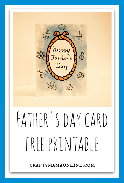 father's day free printable