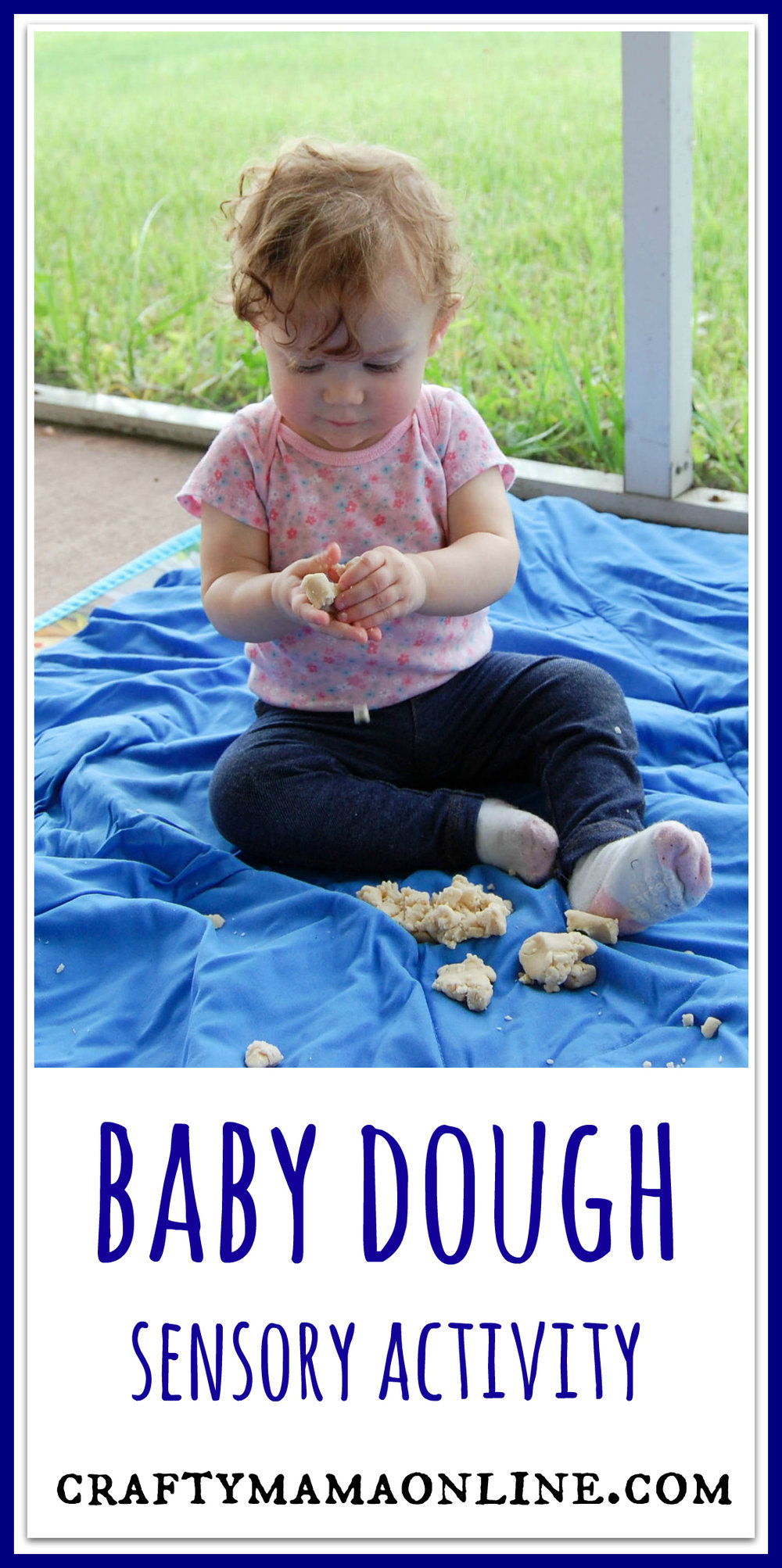 Baby Dough Sensory Activity
