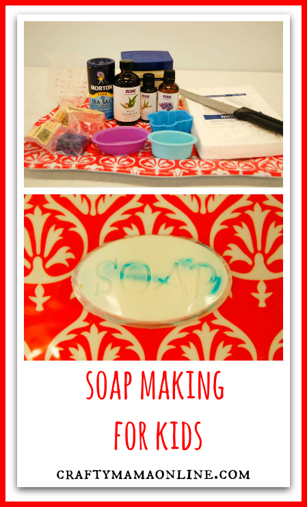 soap making for kids
