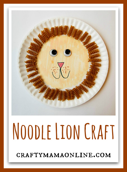 noodle lion craft