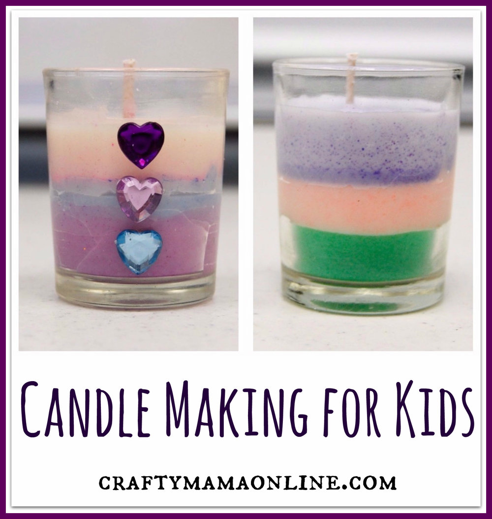 candle making for kids