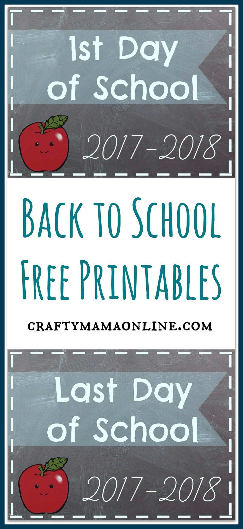 back to school free printable signs