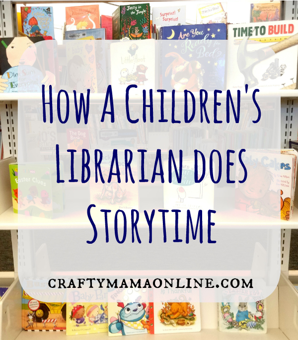 how a children's librarian does storytime