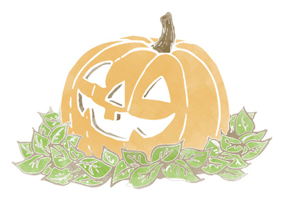 halloween pumpkin and leaves 7x5 template.jpg