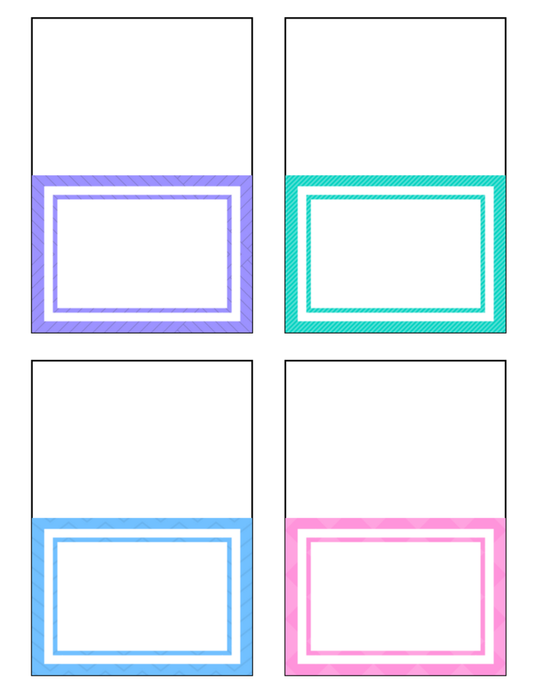 free printable place cards - Printable Place Cards