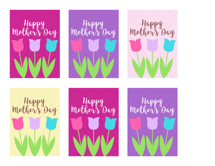 free printable mother s day gift tags violet paper designs