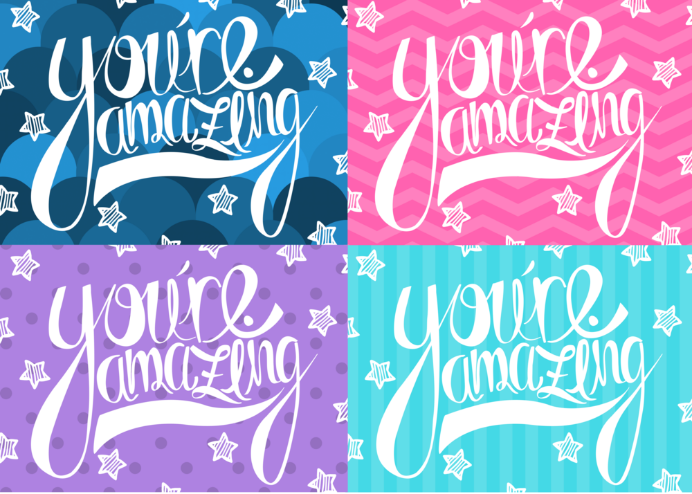 free printable you're amazing card