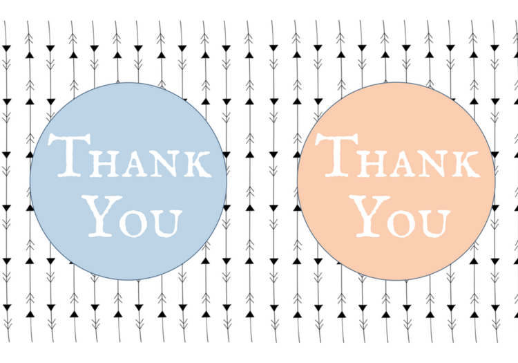 free printable thank you cards violet paper designs