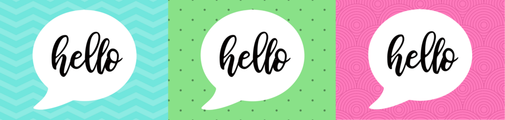 free printable hello card