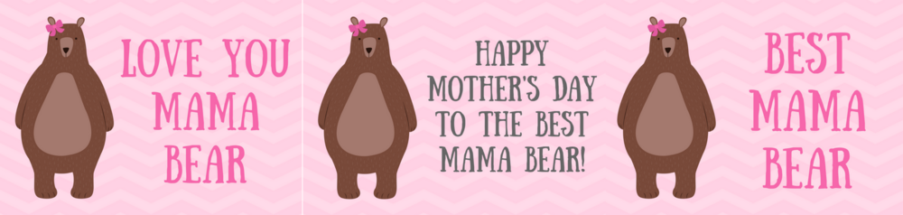 free printable mother's day mama bear card