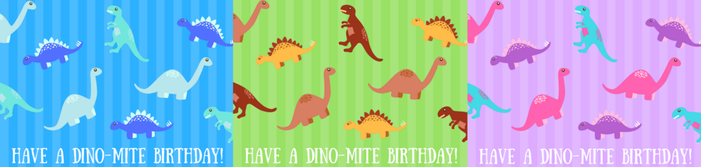 free printable dinosaur birthday cards