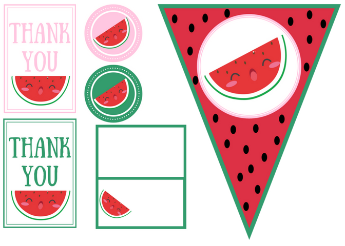 watermelon party set.png