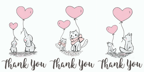 free printable baby shower thank you gift tags