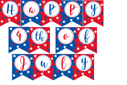 free printable 4th of july banner -violet paper designs.png