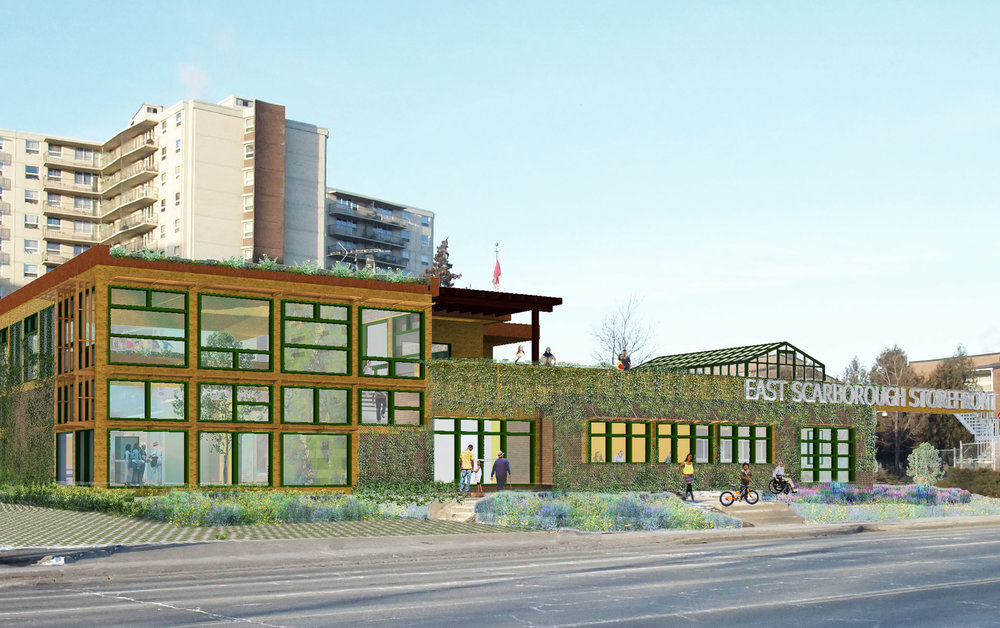 East Scarborough Storefront  Community Design Initiative Expansion and Adaptive Re-use