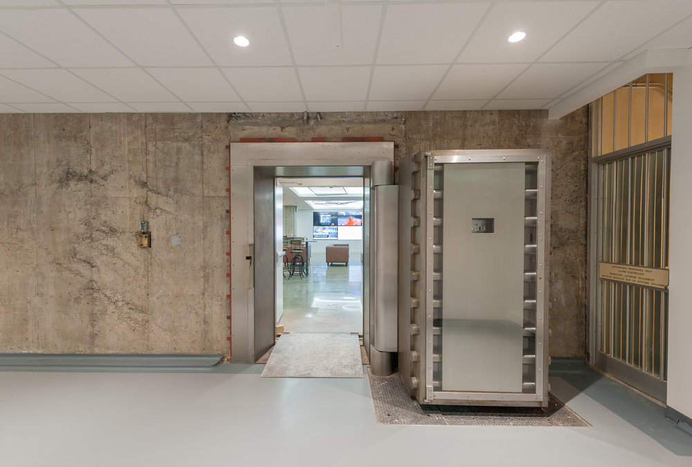 The Vault Adaptive Reuse of Former Bank of Canada Vault to Shared Office Space