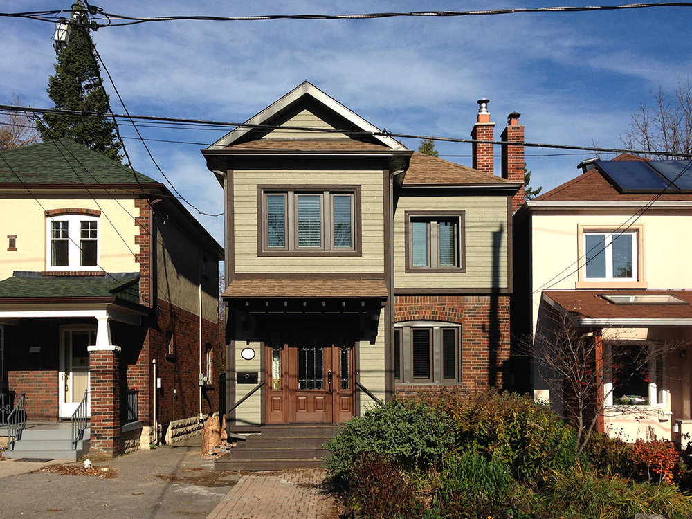 Davisville Phased Addition  Sustainable Renovation and Addition to Existing Masonry Home