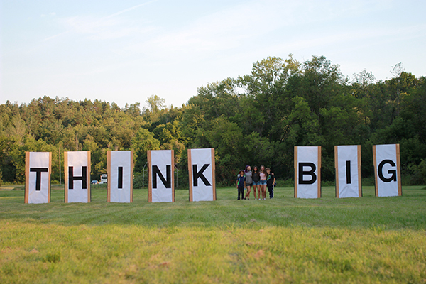 A key idea the students shared, thinking bigger than just this summer. (Photo: Bolton Camp)