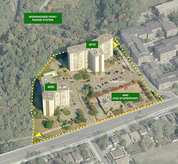 Tower Neighbourhood Renewal Site Context
