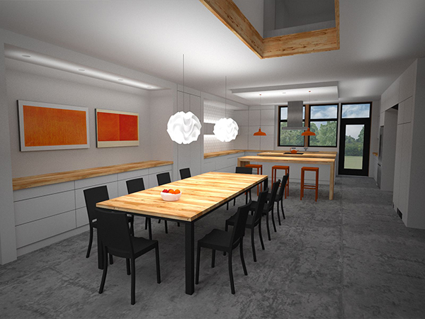 Dining Room Rendering