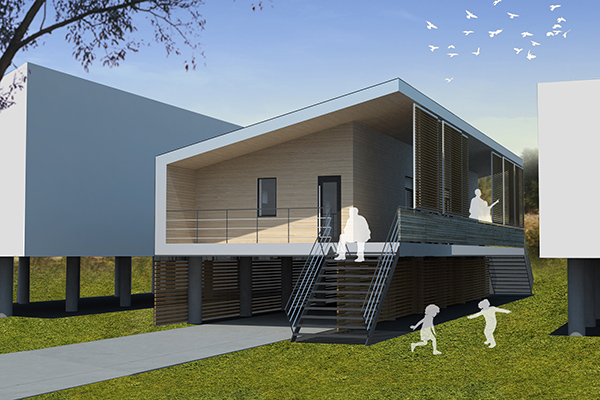 Our design for Low-Cost Low-Energy House
