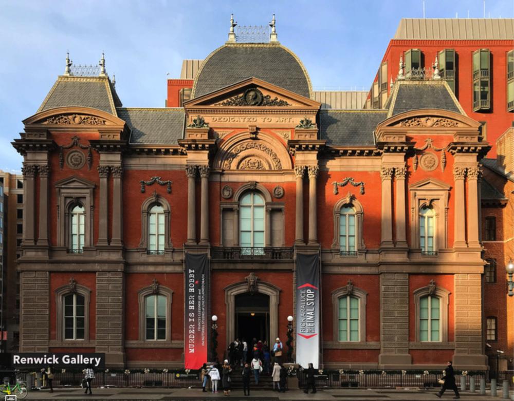 The Renwick Gallery. Image Courtesy of Flickr User massmatt