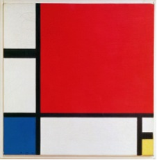 Piet Mondrian,  Composition II in Red, Blue, and Yelllow , 1930.  Image Source