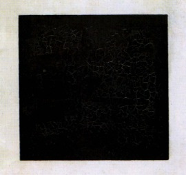 Kasimir Malevich,  Black Square , 1918.  Image Source