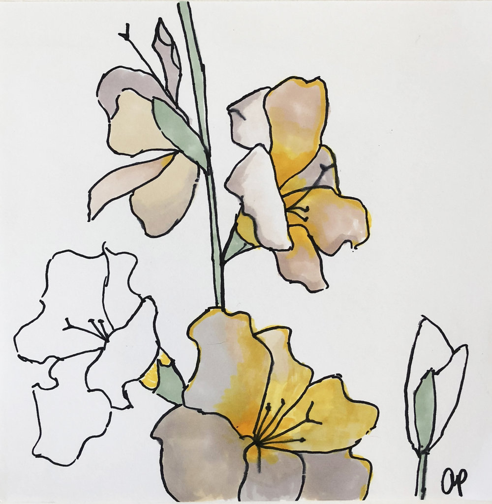 Flower Study #8