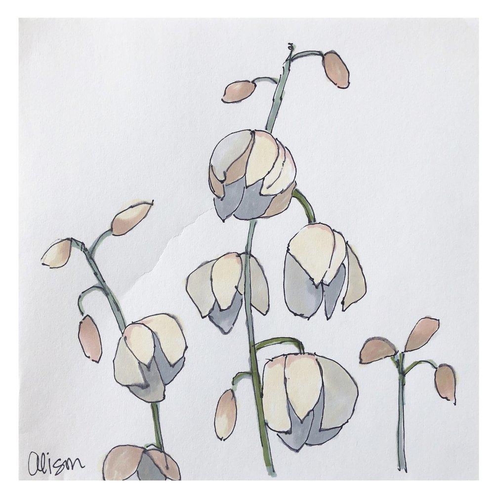 Flower Study #4 (SOLD)
