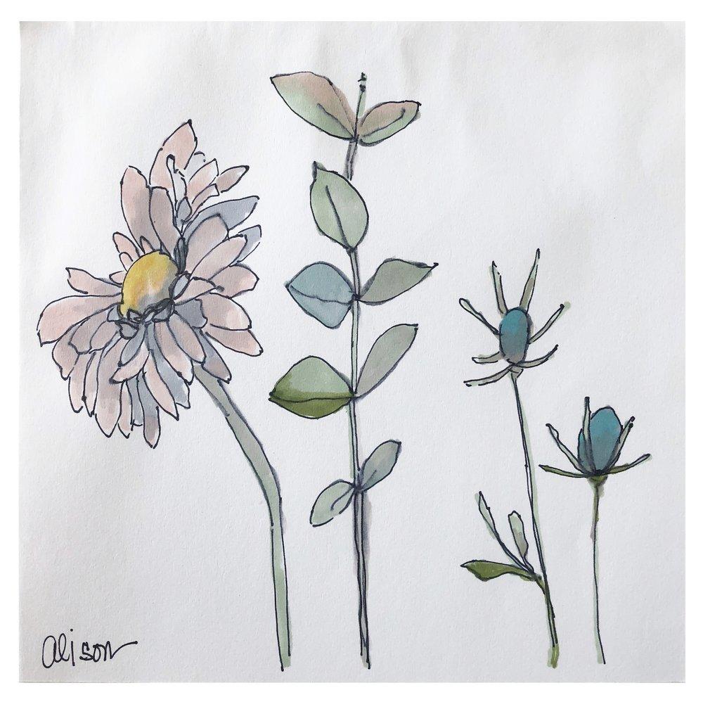 Flower Study #3 (SOLD)