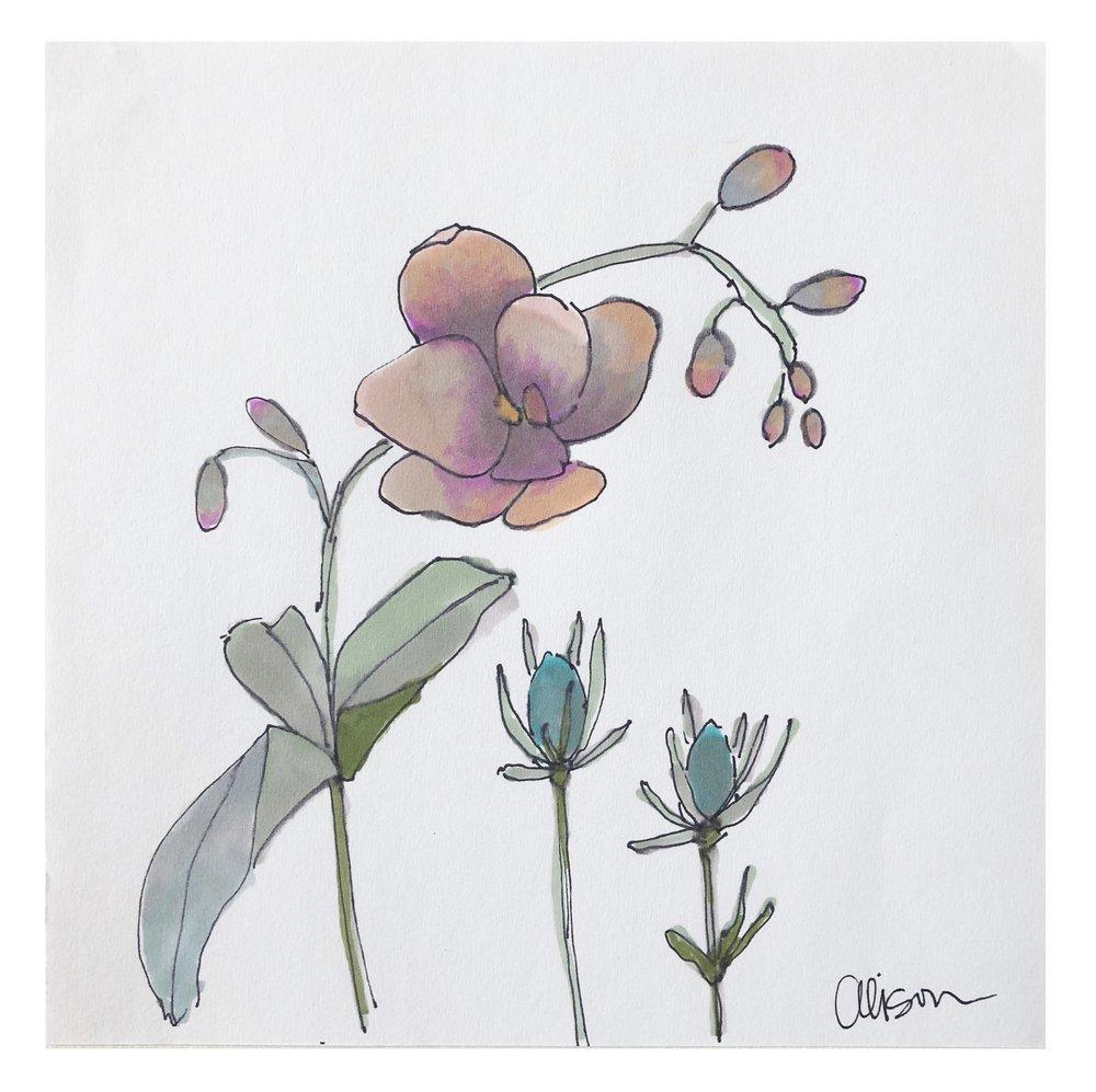 Flower Study #5