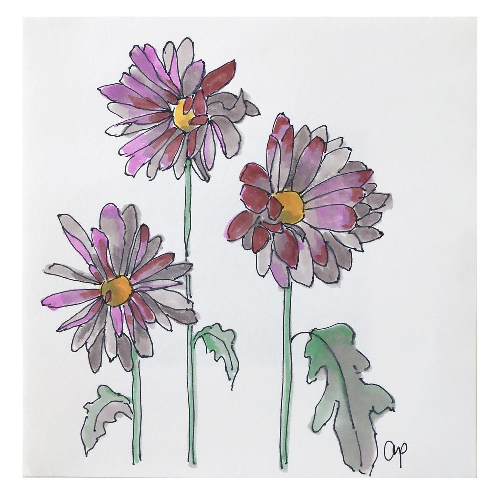 Flower Study #6 (SOLD)