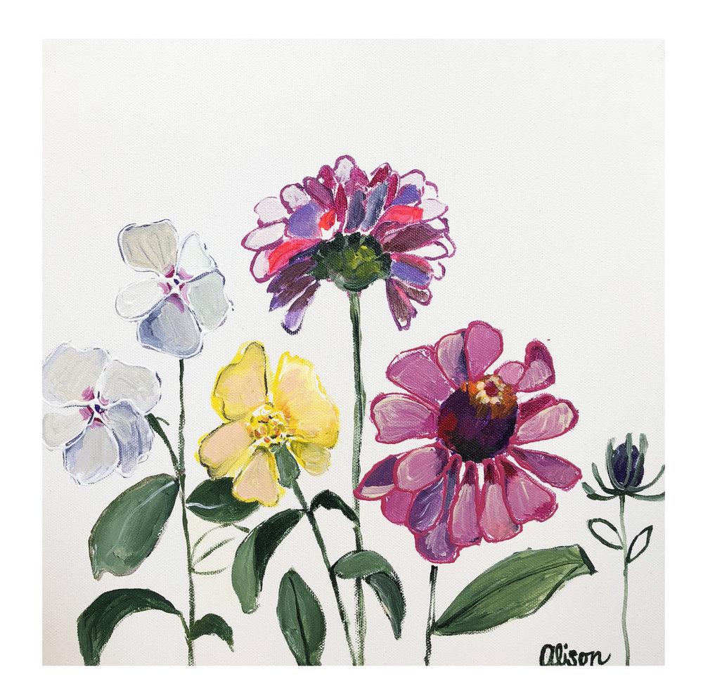 Flower Square #5