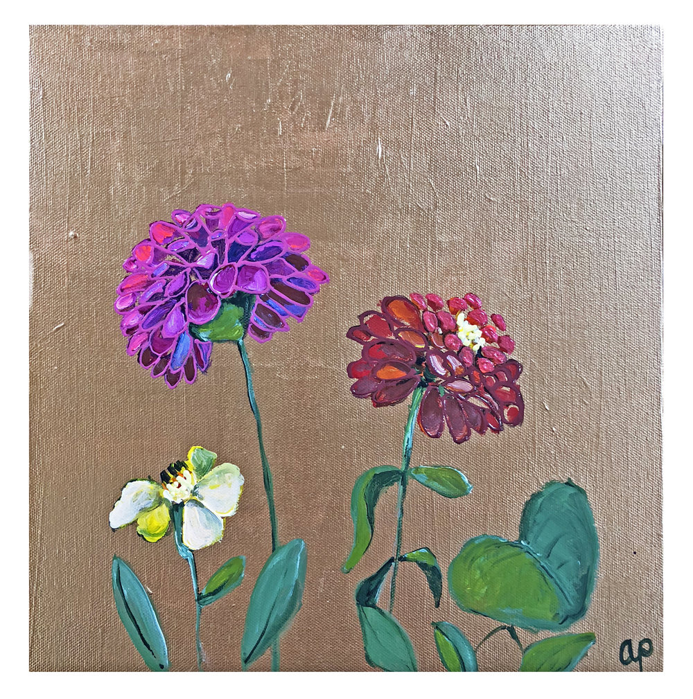 Flower Square #6 (SOLD)