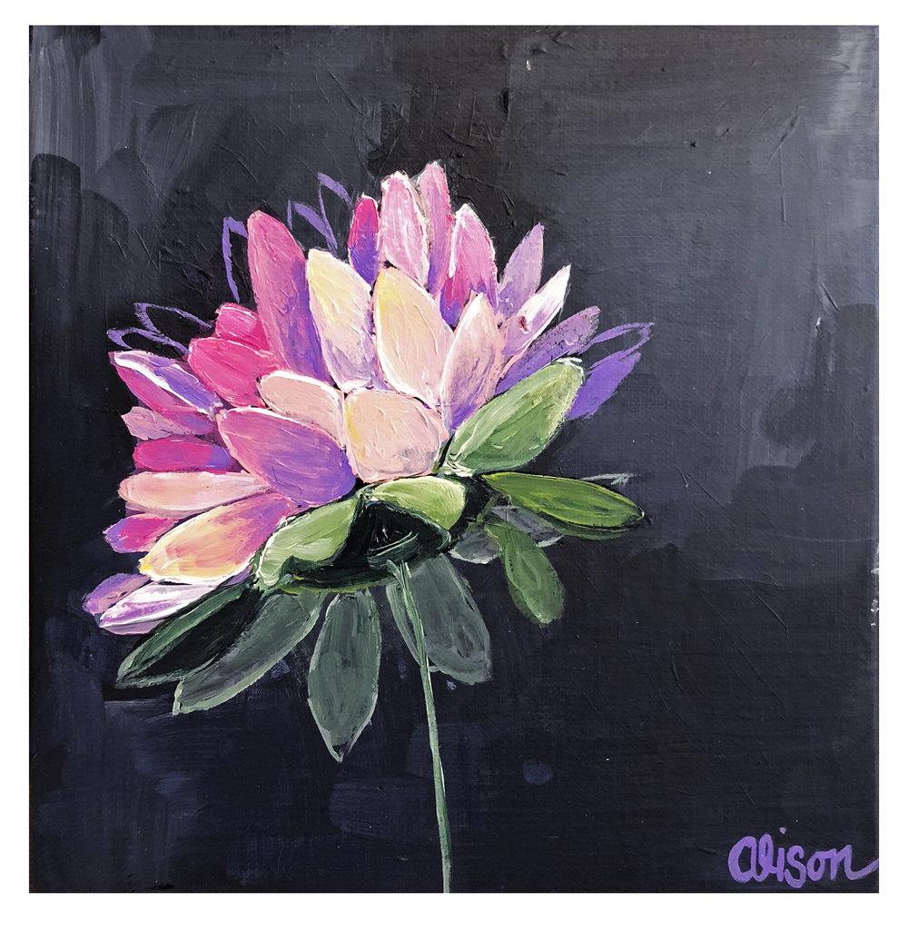Medium Flower #9 (SOLD)