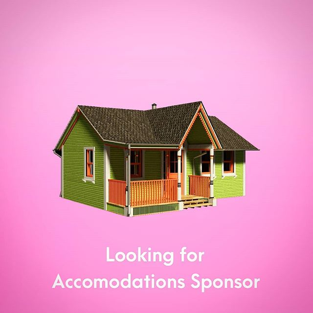 We are in need of accomodation sponsors! We have a fantastic lineup of international speakers at the festival this year and we are in need of 2 nights of lodgings.  Do you have an extra rental suite, apartment or house you'd consider donating for 2 nights?  August 2nd and 3rd! Sponsor perks, credit and tickets provided!