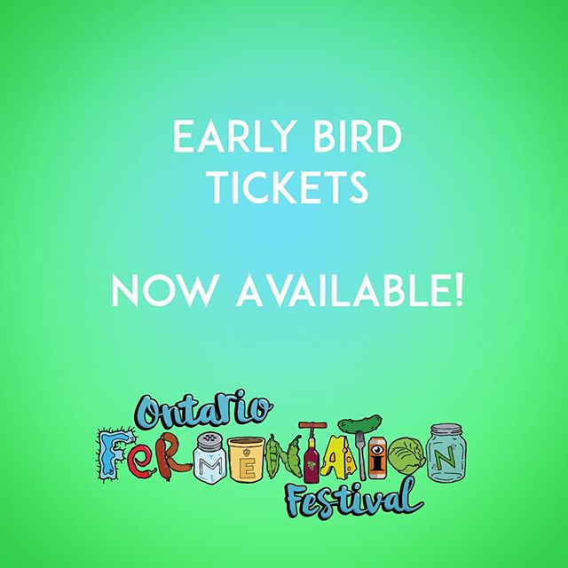 Link in bio ⬆️ You can now get advanced tickets through our eventbrite link. Why not save a few dollars on admission :) Pro Tip:  Remember, Prince Edward County can be a pretty busy place in the height of summer, so if you need accommodations, we suggest you start looking now.