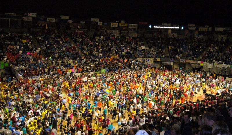 THON 2007 - the first time it was held in the Bryce Jordan Center. IT IS THAT BIG... Attribution  here .