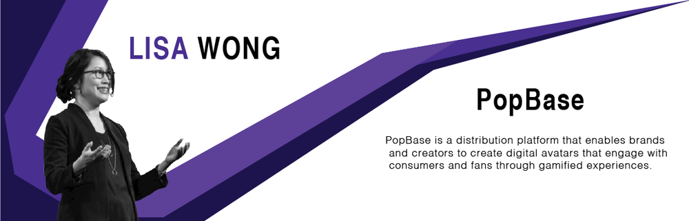 """ACCOMPLISHMENTS:   Announced PopBase, a platform allowing creators to deploy personalized characters as digital assets ;  Released Popbase video ; Got accepted into the Brandery Accelerator; Raised $100,000 in funding from The Brandery   AWARDS:   Won $50,000 in GVS LA pitch competition;   Won Global Ventures Summit's LA 2018 Pitch Battle Competition    TALKS:   AWE 2018 Global AR Pitch ;  AWE 2018 Augmented Reality & Virtual Reality in the Convosphere    LISA SAYS:  """"The biggest one: 'it's a marathon, not a sprint.' This was for everything - building the product, fundraising, refining our story. Everything is iteration. It felt like we were working, and talking in a vacuum, and then we got into one event, and then another, and then we started winning a spot, contests. And it literally all stacked up in the last few months of the year. I've been a part of the gaming community for awhile - the entrepreneur community is new for me, and it's been humbling and inspiring. What excites me? Product beta! Having our partners start to generate content and monetize. Everything we will learn, and everyone we will meet from the Brandery Accelerator."""""""