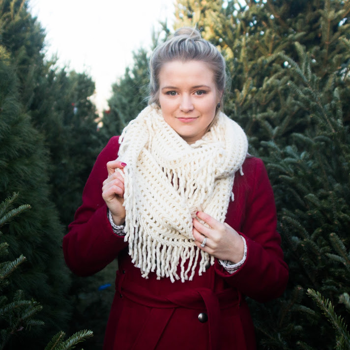 Tassel scarf donates towards domestic violence shelters  - Your new Arise Box exclusive scarf is not only stylish and warm but was ethically made & 20% of the profits go towards domestic violence shelters. See more cozy products from The Charity Wrap