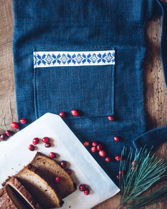 Fair trade hand-embroidered aprons