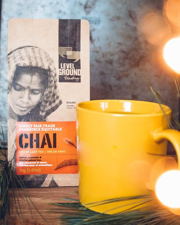 Fair trade spiced Chi Tea